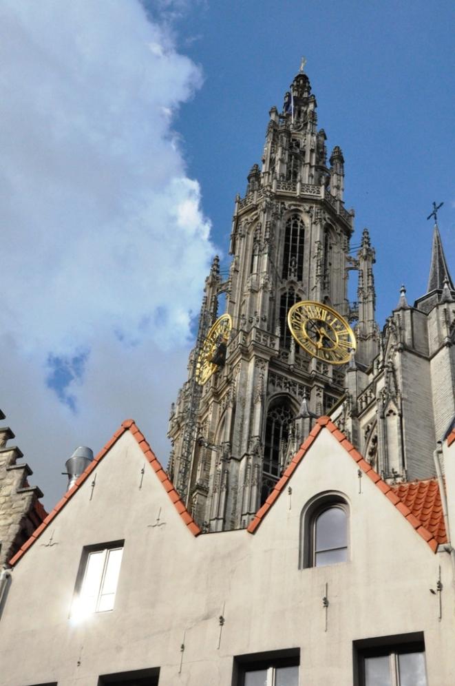 Himla fint i Antwerpen