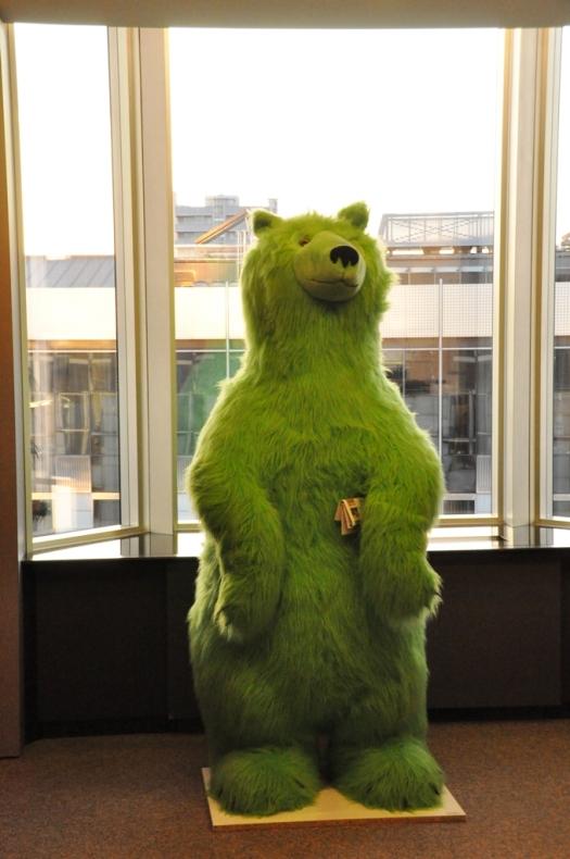 Grön björn2