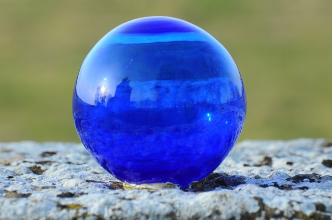 Blå kula Näsby